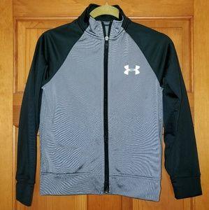 Boys UA zip up jacket